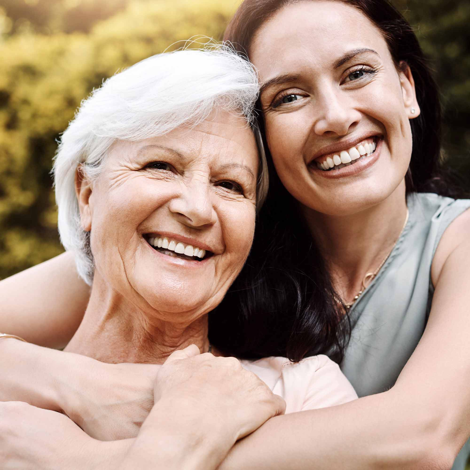 The Pinnacle of Southaven - Assisted Living Memory Care Mother and Daughter