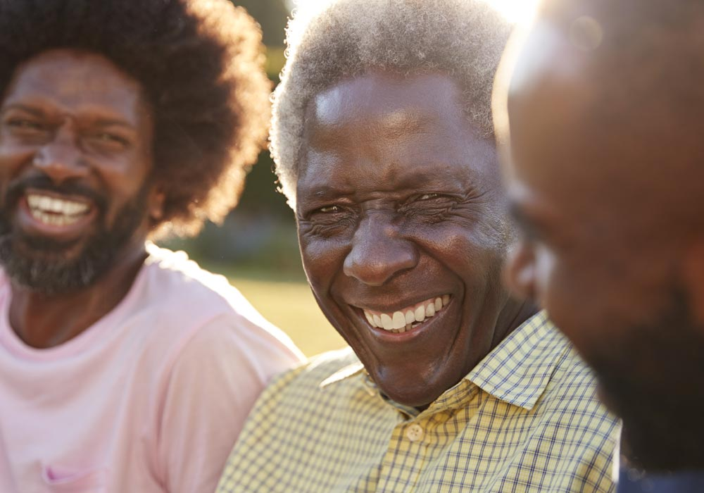 Memory Care Group of Men Laughing Dementia - The Pinnacle of Southaven