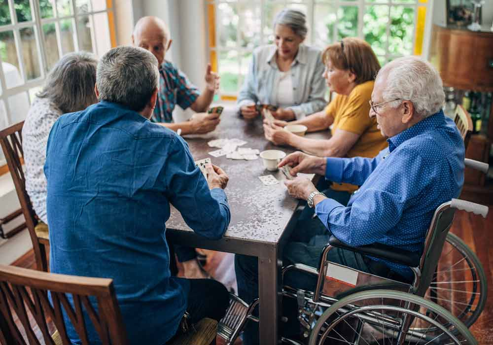 Assisted Living and Memory Care Group Playing Cards - The Pinnacle of Southaven